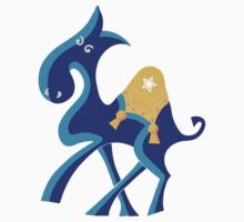 Exotic Blue Camel Kids Tee