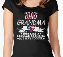 I'm an Ohio Grandma Women's Fitted Scoop T-Shirt