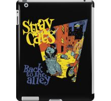 Stray Cats Back To The Alley  iPad Case/Skin