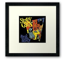 Stray Cats Back To The Alley  Framed Print
