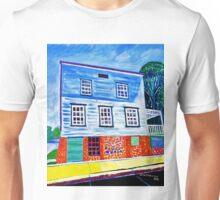 Historic house built 1844 Richmond Wisconsin USA Unisex T-Shirt