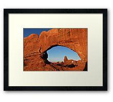 Turret Arch Framed Print