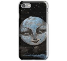 Soft Constellations Framing A Sandy Moon iPhone Case/Skin