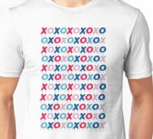 x o pattern  Unisex T-Shirt