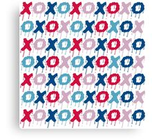 x o pattern  Canvas Print