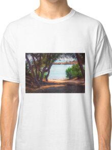 Trees and boats Classic T-Shirt