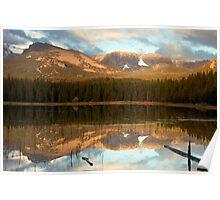 Reflection at Bierstadt Lake Poster