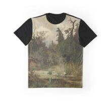 Hans Schühly  Summer in the Woodlands of the Au Graphic T-Shirt