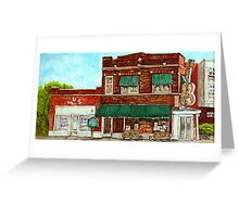 SUN STUDIO MEMPHIS Greeting Card