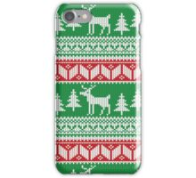 Christmas Jumper Pattern iPhone Case/Skin