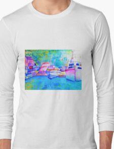 Roseville Marina Sydney Australia Long Sleeve T-Shirt