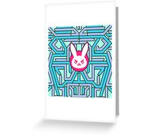 Rabbit Overwatch Greeting Card