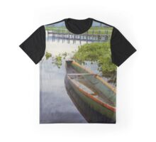 Colombian Green Boat 02 Graphic T-Shirt