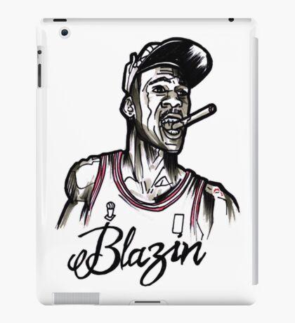 Blazin Jordan iPad Case/Skin