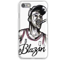 Blazin Jordan iPhone Case/Skin