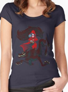The Big Bad Women's Fitted Scoop T-Shirt