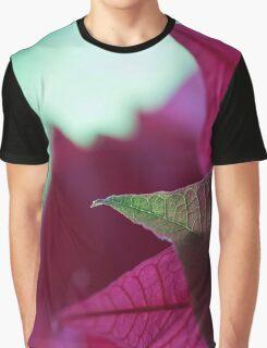 Weihnachtsstern ganz nah Graphic T-Shirt