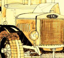 Vintage truck Sticker