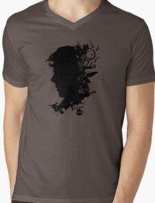 A New Silhouette Mens V-Neck T-Shirt