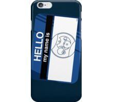 Hello, I'm The Doctor iPhone Case/Skin