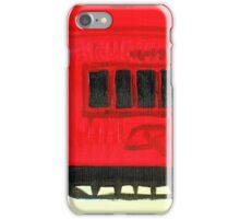 Old Queensland train carriage iPhone Case/Skin