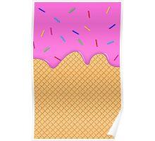Ice Cream Overflow! Poster