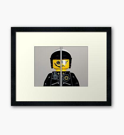 Good Cop - Bad Cop  Framed Print