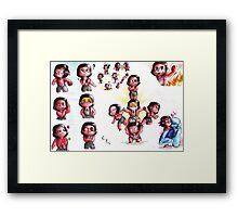 Steven Universe - Rubies Framed Print