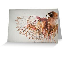 hawk I Greeting Card