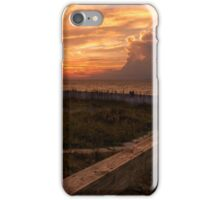 Watching the day die iPhone Case/Skin