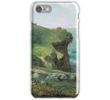 Jean-François Millet - Cliffs of Gréville iPhone Case/Skin