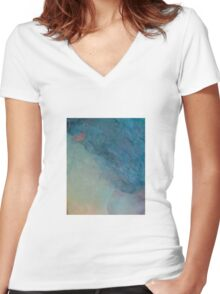 Consequence by 'Donna Williams' Women's Fitted V-Neck T-Shirt