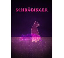 Schrodinger's Cat Photographic Print