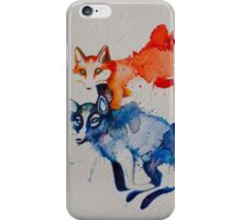 sauvages iPhone Case/Skin