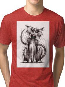 Tom cat Tri-blend T-Shirt
