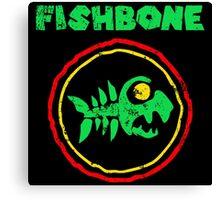 Fishbone Everyday Sunshine Canvas Print