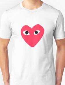 Comme des Garcon - Large/Center Unisex T-Shirt