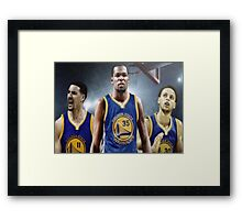 basket team Framed Print