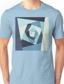 Layers of Blues Unisex T-Shirt