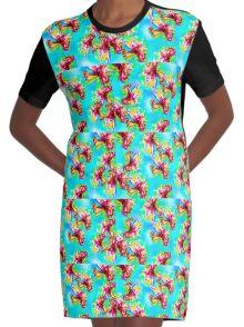 julie Graphic T-Shirt Dress