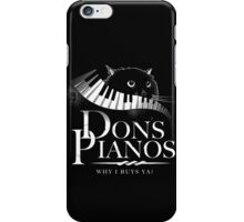 Dons Pianos iPhone Case/Skin
