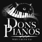 Dons Pianos by GordonBDesigns