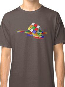 Rubiks Cube Melting Classic T-Shirt