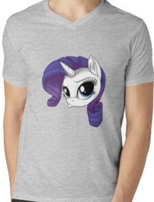 Rarity Duck Face Mens V-Neck T-Shirt