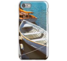 At The Small Boat Dock iPhone Case/Skin