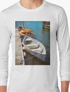 At The Small Boat Dock Long Sleeve T-Shirt