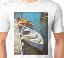 At The Small Boat Dock Unisex T-Shirt