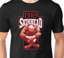 Skinhead Cross And Sitting Boy Unisex T-Shirt
