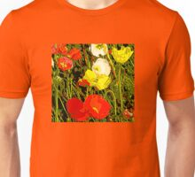 Papaver Tote, Pillow, Tablet, iPhone And Tees Unisex T-Shirt