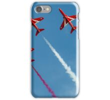 Red Arrows five ship iPhone Case/Skin